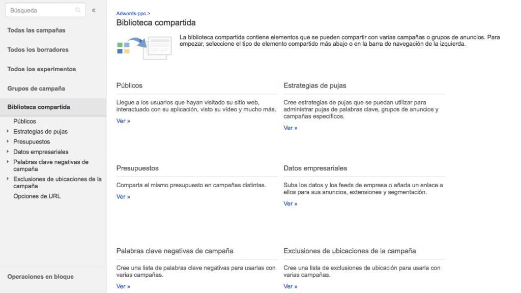 Configurar segmentación por lista de clientes en Adwords